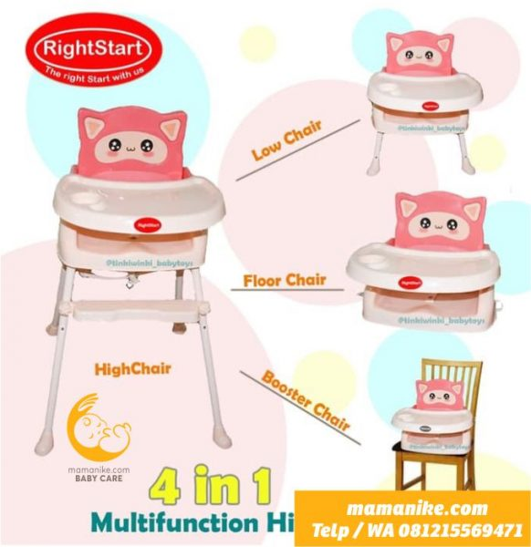 sewa rental baby high chair purwokerto1