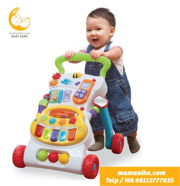 sewa rental baby walker push walker purwokerto