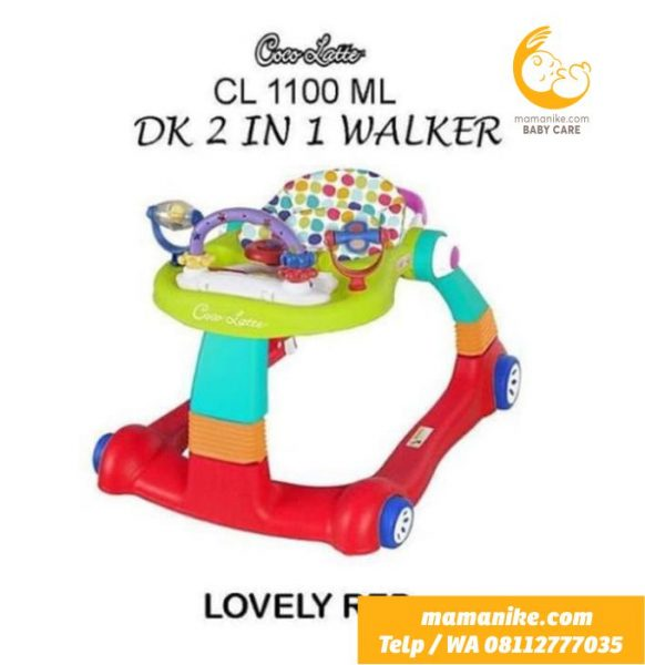Baby Walker Push Walker 2 in 1