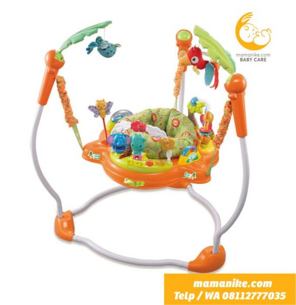 sewa jumperoo orange purwokerto