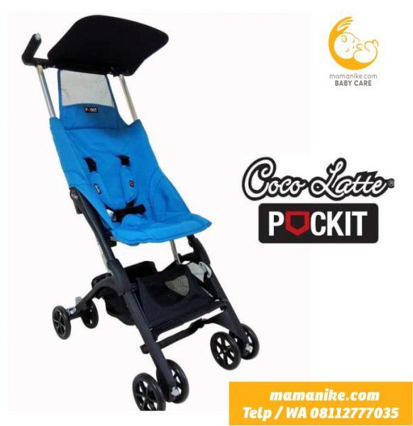 sewa stroller pockit gen 4 biru purwokerto