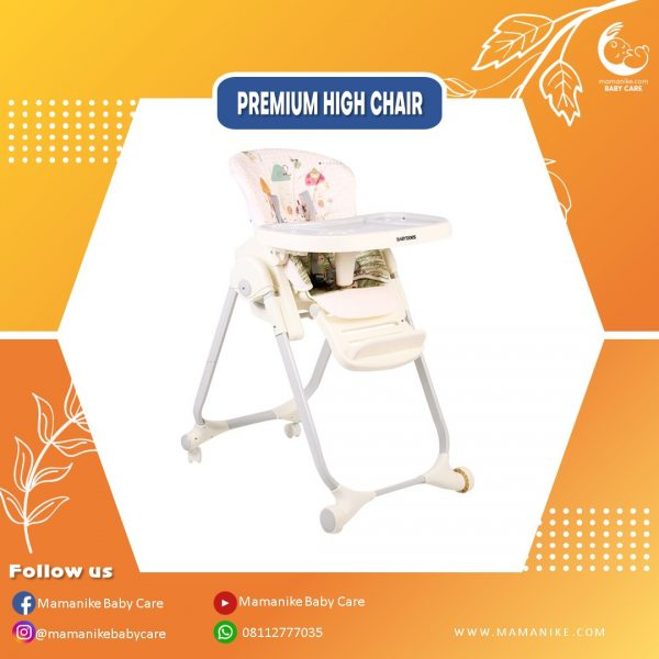 sewa high chair baby does beige