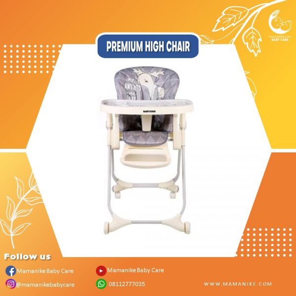 Baby Does High Chair 3 in 1 Grey