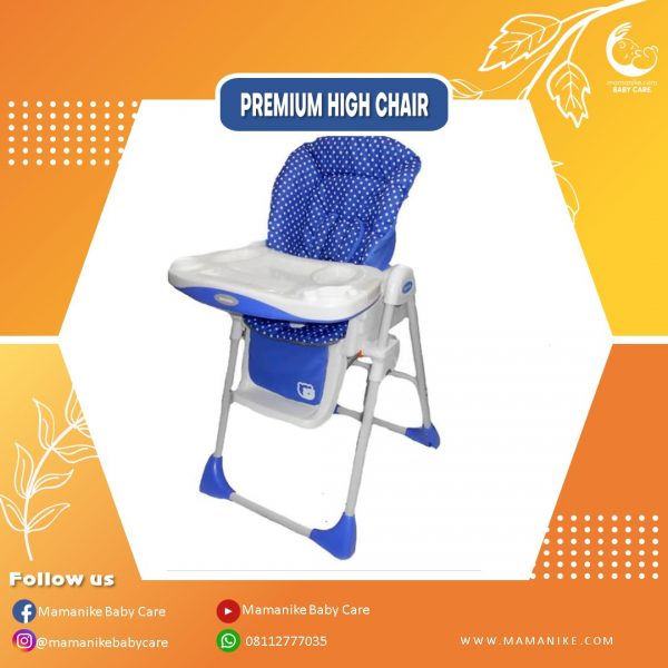 Baby Does High Chair 3 in 1 Blue
